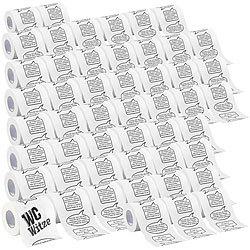 Infactory Klopapier Witze Toilettenpapier Witze 1 Rolle