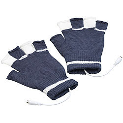 0468018badd8fc infactory Beheizte USB-Handschuhe, bis 50 °C, entnehmbare Heiz-Elemente  infactory