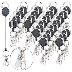 5 Schlüsselanhänger Schlüsselschilder Schwarz black für Schlüssel z Beschriften