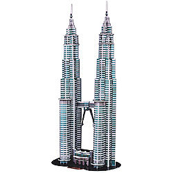 Playtastic 3D-Puzzle Petronas Towers Playtastic 3D-Puzzles