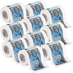 Toilettenpapier mit edlem Rosenmotiv