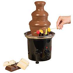 Elektrisches Schokoladen-Fondue für 2 Personen 15 Watt Schokoladenfondue