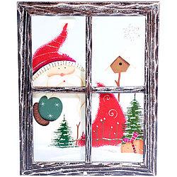 Pearl Bild Holz Schneemann Bilderrahmen Bilder Mit Weihnachts Motiven
