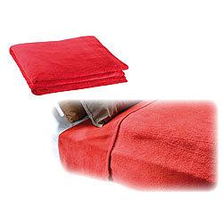 wilson gabor weiche mikrofaser kuscheldecke 200 x 150 cm 190 g m rot. Black Bedroom Furniture Sets. Home Design Ideas