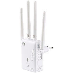 7links Dualband-WLAN-Repeater WLR-1221.ac, AccessPoint & Router, 1.200 Mbit/s 7links Dualband-WLAN-Repeater