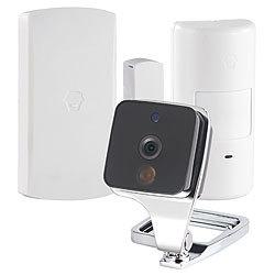 visortech netzwerk kamera wlan ip kamera mit app 433 mhz. Black Bedroom Furniture Sets. Home Design Ideas