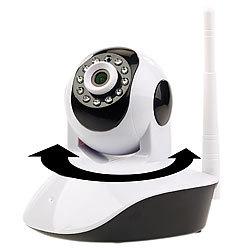 Roboter Unterhaltungselektronik Wifi Ip Security Kamera 720 P Roboter Hd Video Home Security Surveillance 360 Nachtsicht Zwei-weg Audio Bewegung Erkennung Kamera