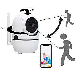 7links WLAN IP Uberwachungskamera Mit Objekt Tracking Und App Full HD