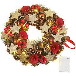 Weihnachtsdeko Cremefarben.Türkränze Weihnachtsdeko Für Günstige 18 95 Kaufen