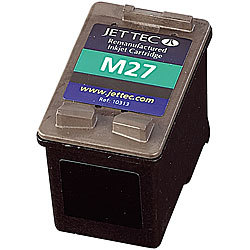 Recycled Cartridge für HP (ersetzt C8727A No.27), black recycled / rebuilt by iColor