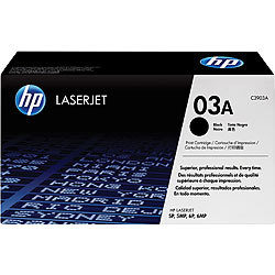 hp Original Tonerkartusche C3903A (No.03A) hp Original Toner-Cartridges für HP-Laserdrucker