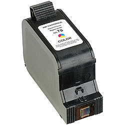 Recycled Cartridge für HP (ersetzt C6578A No.78), color HC recycled / rebuilt by iColor Recycled-Druckerpatrone für HP-Tintenstrahldrucker