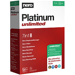 Nero Platinum Unlimited Nero