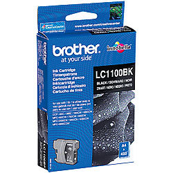 Brother Original Tintenpatrone LC1100BK, black Brother Original-Tintenpatronen für Brother-Tintenstrahldrucker