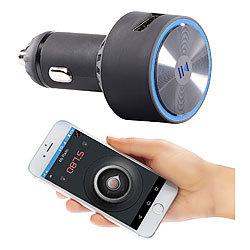 auvisio mp3 auto kfz fm transmitter bluetooth. Black Bedroom Furniture Sets. Home Design Ideas
