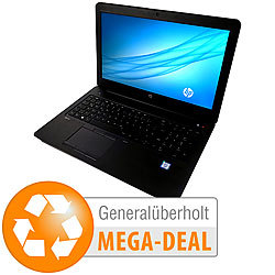 "hp ZBook 15 G3, 15,6""/39,6 cm, Core i7, 32GB, 512GB SSD (generalüberholt) hp Notebooks"