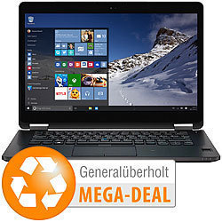 "Dell Latitude E7470, 35,6cm/14"", Core i7, 16GB, 1TB SSD (generalüberholt) Dell Notebooks"