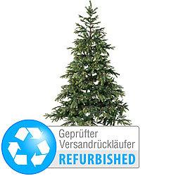Weihnachtsbaum Rattan.Infactory Tanne Künstlicher Weihnachtsbaum 180 Cm