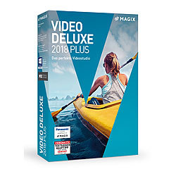 MAGIX Video deluxe 2018 Plus MAGIX Videobearbeitung (PC-Softwares)