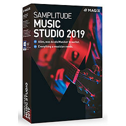 MAGIX Samplitude Music Studio 2019 MAGIX Musikproduktion (PC-Softwares)