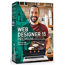 MAGIX Web Designer 15 Premium MAGIX Webdesign (PC-Software)