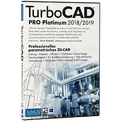 TurboCAD Pro Platinum V2018/2019 TurboCAD Design Group CAD-Softwares (PC-Softwares)