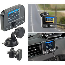 auvisio dab adapter kfz dab empf nger fm transmitter. Black Bedroom Furniture Sets. Home Design Ideas