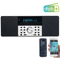 VR-Radio Digitalradio mit DAB+, FM, Bluetooth, CD, Audio-Player, USB-Port, 60 W VR-Radio DAB-Internetradios mit CD-Player und Bluetooth