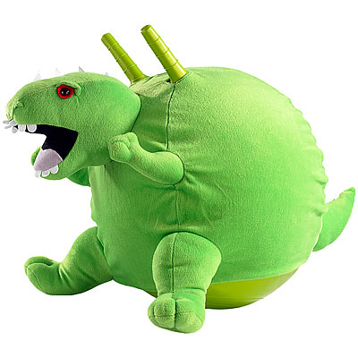 Playtastic Knallgrüner Dinosaurier-Hüpfball