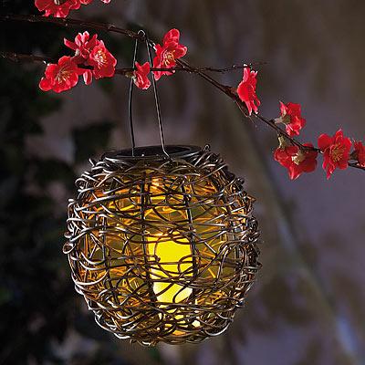 Lunartec Kugelförmige Solar-LED-Dekoleuchte