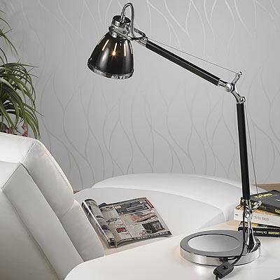 Lunartec Elegante Retro-Tischleuchte