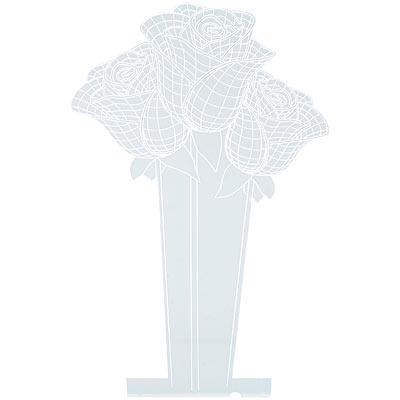 """Lunartec 3D-Leuchtmotiv """"Rosen"""" für Deko-LED-Lichtsockel LS-7.3D"""