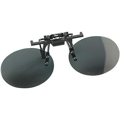 """Speeron Polarisierender Sonnenbrillen-Clip """"Oval"""" für Brillenträger"""