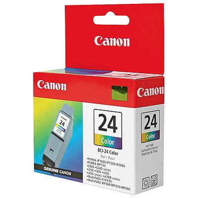 Original CANON Tintenpatrone BCI-24C, color