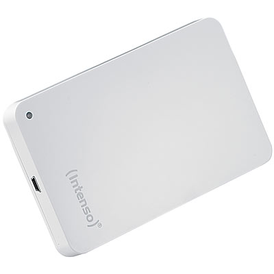 "Intenso Externe 2,5"" Festplatte, 500 GB, USB3.0, weiß"