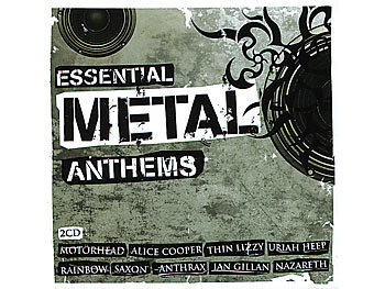 Essential Metal Anthems (2 CDs)