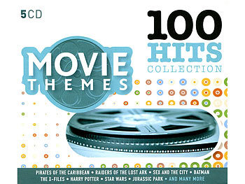 100 Hits Collection Movie Themes (5 CDs)