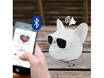 Bulldog Bluetooth 4.1 Lautsprecher, wireless für Android & IOS, Eaxus