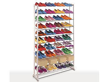 Robustes Schuhregal für 40 Paar Schuhe / Schuhregal