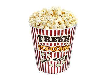 Neu: Vintage Kino-Popcorn Becher spülmaschinenfest 18 cm