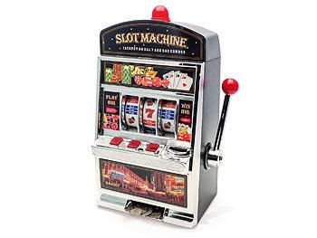 Slot-Machine Einarmiger Bandit Spielautomat mit Spardose / Spardose