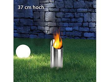 Bio ethanol feuers ule 37 cm hoch - Feuerschalen ethanol garten ...