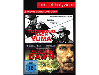 Best of Hollywood - Todeszug nach Yuma/Rescue Dawn (2 DVDs)