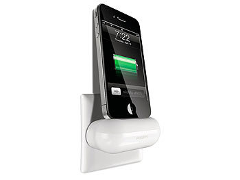 philips wand ladeger t f r alle ipod iphone mit dock connector. Black Bedroom Furniture Sets. Home Design Ideas