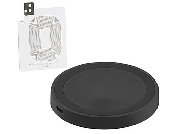 callstel wireless charger induktions ladestation und. Black Bedroom Furniture Sets. Home Design Ideas