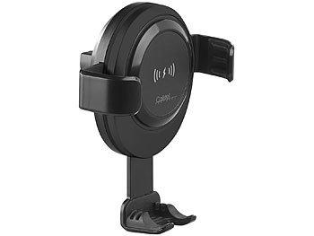 Kfz-Smartphone-Ladehalter für Lüftungsgitter, Qi-kompatibel, 2 A, 10 W 0