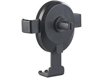 Kfz-Smartphone-Ladehalter für Lüftungsgitter, Qi-kompatibel, 2 A, 10 W 1
