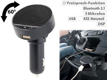 Kfz-Freisprecheinrichtung, Bluetooth, USB 2,1A, Auto-Pairing, Speaker / Freisprecheinrichtung