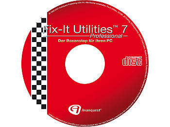 Fix-It Utilities 7 Pro, Vollversion mit Anti-Virus & Anti-Spyware