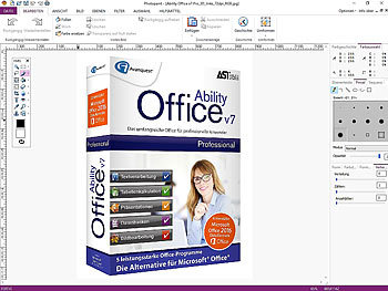 Avanquest Ability Office V7 Professional - Lizenz für 3 PCs Avanquest Office-Pakete (PC-Software)